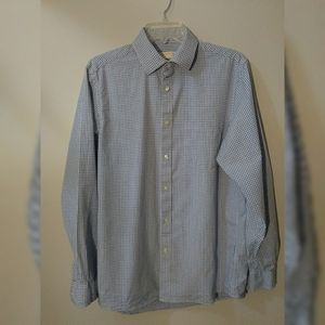 Mens Michael Kohrs long sleeve button down M